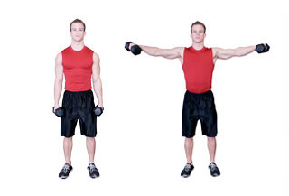 håndvægte øvelser